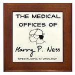 Harry P. Ness Framed Tile