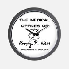Harry P. Ness Wall Clock