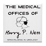 Harry P. Ness Tile Coaster