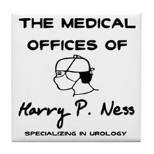 Harry P. Ness Tile Coaster