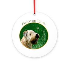 Wheaten Peace Ornament (Round)