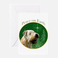 Wheaten Peace Greeting Card