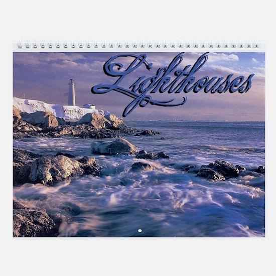 Lighthouses Wall Calendar