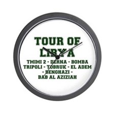 TOUR OF LIBYA Wall Clock