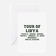 TOUR OF LIBYA Greeting Cards