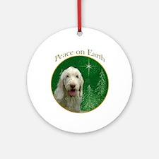 Spinone Peace Ornament (Round)