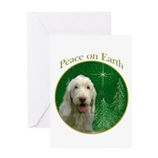 Spinone Peace Greeting Card