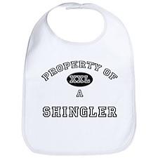 Property of a Shingler Bib