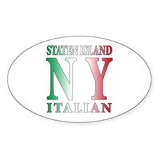 Staten Island Oval Decal