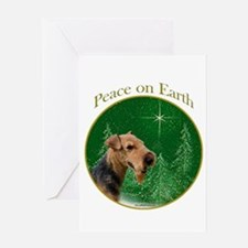 Welsh Terrier Peace Greeting Card
