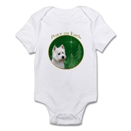 Westie Peace Infant Bodysuit