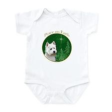 Westie Peace Infant Bodysuit