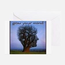 Grow Your Mind Greeting Card