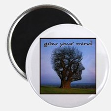 """Grow Your Mind 2.25"""" Magnet (10 pack)"""