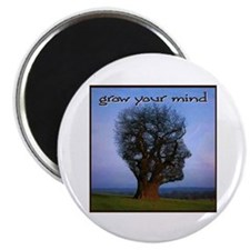 Grow Your Mind Magnet