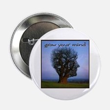 """Grow Your Mind 2.25"""" Button (10 pack)"""