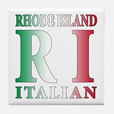 Rhode Island Italian Tile Coaster