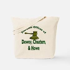 Dewey, cheatem, and howe Tote Bag