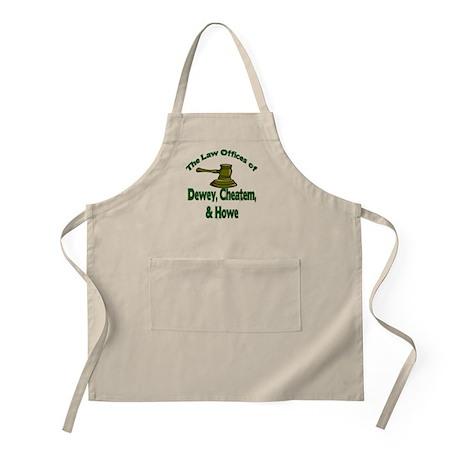 Dewey, cheatem, and howe BBQ Apron