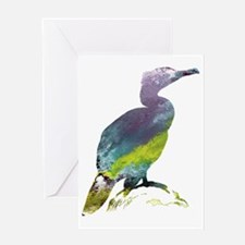 Cute Birds silhouette Greeting Card