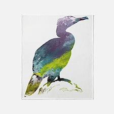 Cute Birds silhouette Throw Blanket