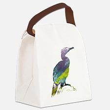 Unique Birds silhouette Canvas Lunch Bag