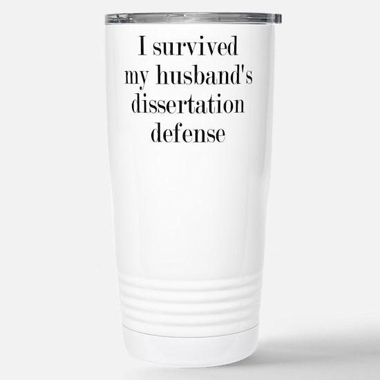 My Husband's Dissertation Defense Mugs