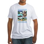 Old Town San Diego Fitted T-Shirt