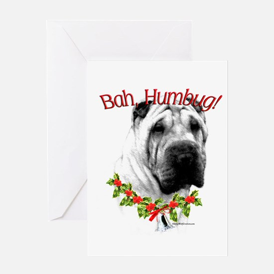 Shar Pei Humbug Greeting Card