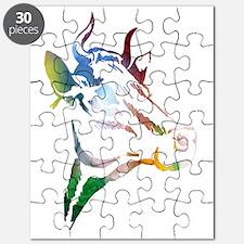 Cute Cattle Puzzle