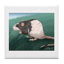 Little Rat Tile Coaster