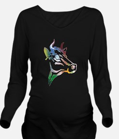 Cow Long Sleeve Maternity T-Shirt