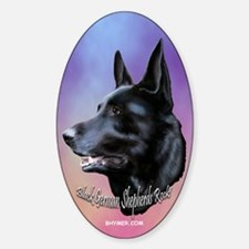 Black Sheps Rock Oval Decal
