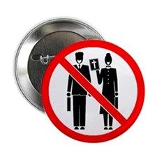 """No Preaching 2.25"""" Button (10 pack)"""