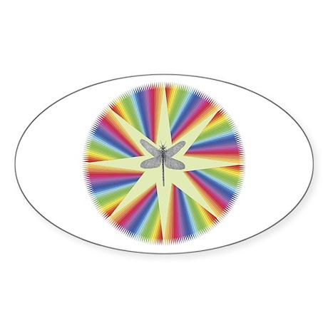 Drygynfly Pride Oval Sticker
