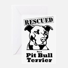 Funny Staffordshire terrier Greeting Card