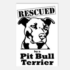 Cute Staffordshire terrier Postcards (Package of 8)