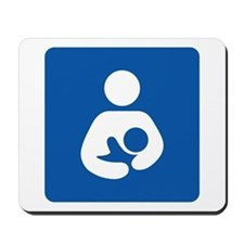 Breastfeeding Symbol Mouse Pad