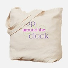 Crop Around the Clock Tote Bag