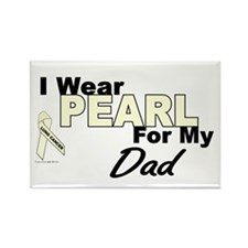 I Wear Pearl 3 (Dad LC) Rectangle Magnet
