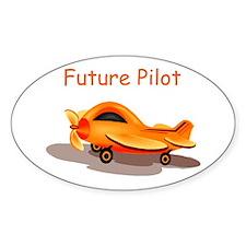 Future Pilot Oval Decal