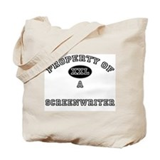 Property of a Screenwriter Tote Bag