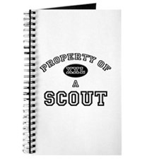 Property of a Scout Journal