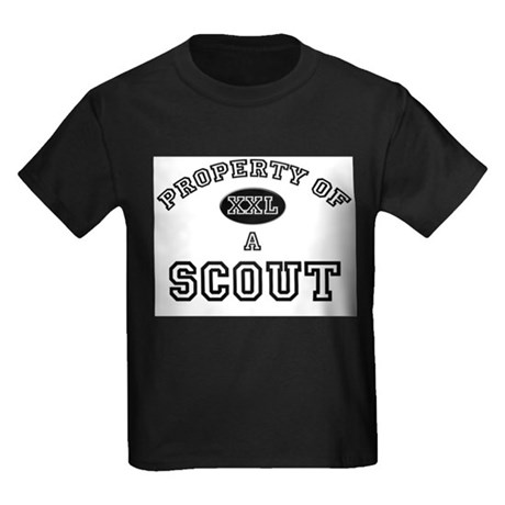 Property of a Scout Kids Dark T-Shirt