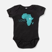 Unique Ethiopia Baby Bodysuit