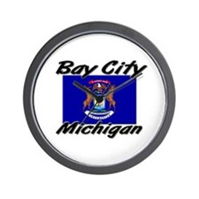 Bay City Michigan Wall Clock