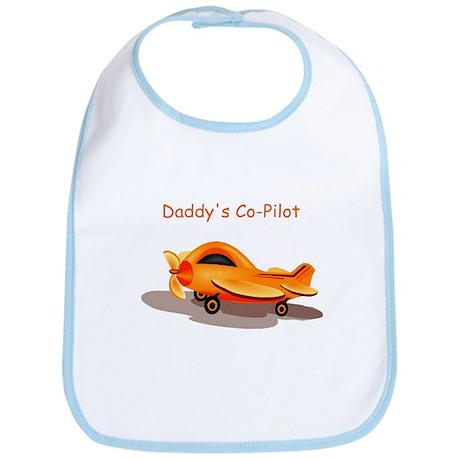 Daddy's Co Pilot Bib
