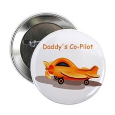 """Daddy's Co Pilot 2.25"""" Button"""