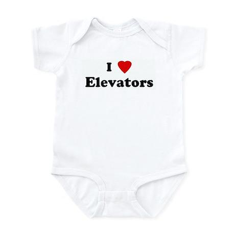 I Love Elevators Infant Bodysuit