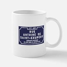 Rue Antoine de Saint-Exupery, Lyon, Fra Mug